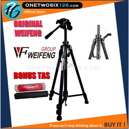 WEIFENG Professional Tripod For Camera/ Camcorder - WT3520